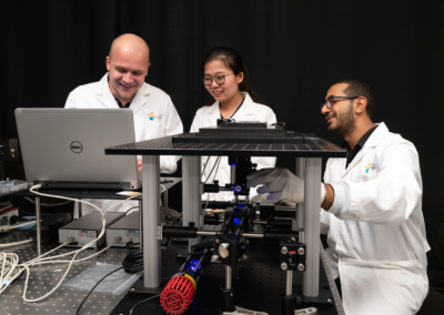 Fs writing, imaging and spectroscopy