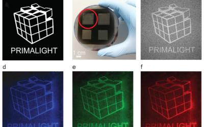 Broadband Holography via Structured Black Silicon Nano-Antennas