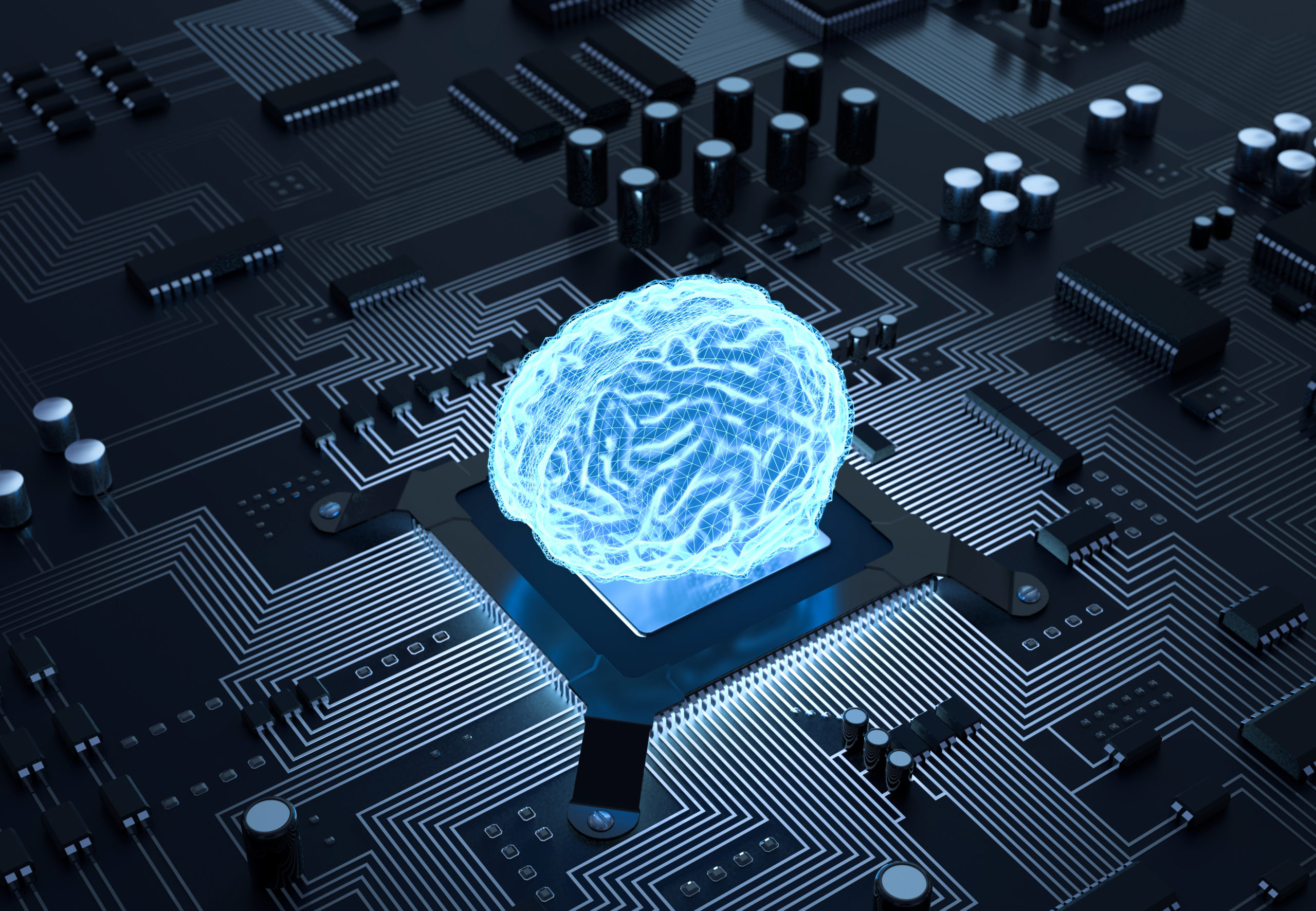 Integrated optical neurocomputing
